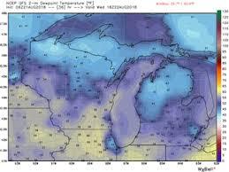 Dew Point Chart Oppressive Brief Break In Sight For Oppressive Humidity Mlive Com