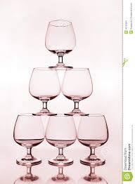 stack wine. Stack Of Empty Wine Glass O
