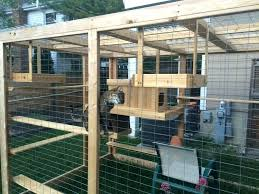 homemade outdoor cat house every cats dream diy cardboard playhouse