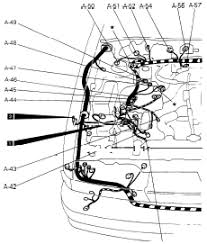 mitsubishi galant engine diagram  mitsubishi galant engine and body chassis electrical system