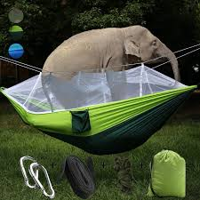 HOME SINGLE-<b>PERSON</b> HAMMOCK HANGING BED MOSQUITO ...