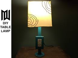 Diy Lamp Make A Diy Outlet Lamp With Usb Charging Youtube