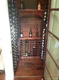 traditional wine closet