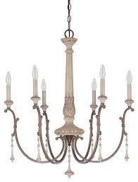 capital lighting 4096 cau 6 light candle style chandelier