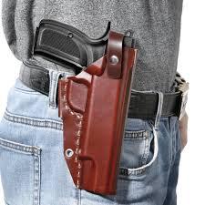 1911 holster fnova owb holster for 1911 style hand ultimate leather handmade waistband belt holster fits colt kimber para