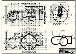 Скачать бесплатно дипломный проект ПГС Диплом №  2 План на отм 4 500 План 8 17 типового этажа План кровли Блок схема jpg