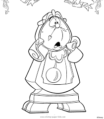 Beauty And The Beast Coloring Pages Coloring Pages For Kids