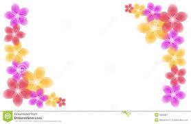 spring flowers border clipart. Plain Border Spring Flowers Corner Piece Borders Intended Border Clipart