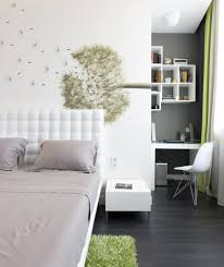 Side Chairs For Bedroom Wall Deco Bedroom Contemporary With Office Area Contemporary