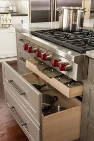Transitional Kitchen Design: Get The Designer Look Love The Drawers For  Lids And Pots Under