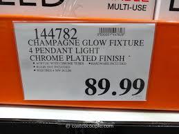champagne glow lighting fixture costco 3
