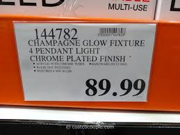 champagne glow lighting fixture costco 3