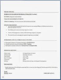 Resume Format Mechanical Engineer Fresher Lovely Resume Headline For