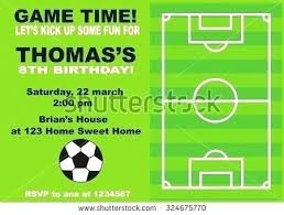 Football Invitation Template S New Football Themed Invitation Template Cards Updrill Co