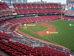 Great American Ball Park Seating Chart Map Seatgeek