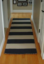 short black and white striped hallway runner rugs with carpet runner by the foot