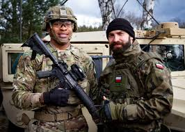us army brothers in arms american and polish soldiers unite in