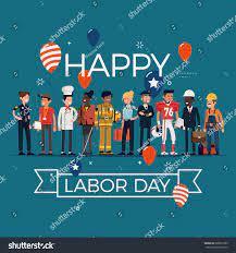 Happy Labor Day Stock Vector (Royalty ...
