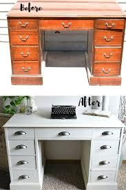 desk with side drawers white desk makeover timeless creations writing desk with side drawers