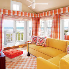 orange living room furniture. Use A Combination Of Bright Oranges, Happy Yellows, And Zippy Pinks To Create Orange Living Room Furniture T