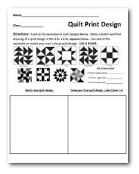 Planning Sheet and Lesson Plan : Quilt Prints   cross curricular ... & Planning Sheet and Lesson Plan : Quilt Prints Adamdwight.com