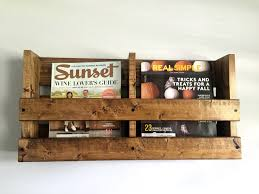 ... Rack, Office Wall Mounted Magazine Rack Ideas: Appealing Wall Mounted Magazine  Rack Ideas ...