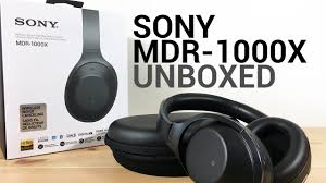 sony noise cancelling headphones. unboxing the best noise cancelling headphones, sony mdr-1000x - youtube headphones a