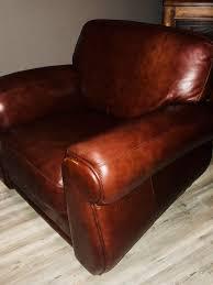 leather club chair deep burdy maroon 100 leather club chair near perfect