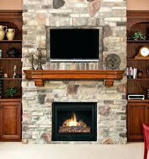 gas fireplace corner insert log white ventless mountain sup