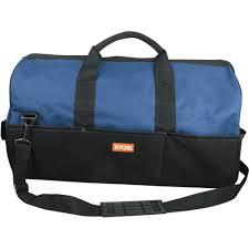 ryobi tools blue. ryobi utb6 one+ large heavy duty tool bag tools blue