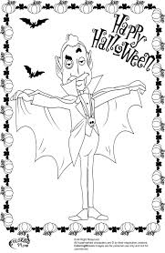 Small Picture Halloween Dracula Coloring Pages Minister Coloring