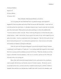 Narrative Memoir Essay Examples Short Biography Format Personal Bio