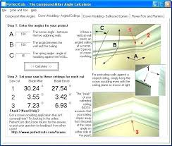 Crown Molding Miter Chart Cutting Crown Molding Angle Magmaltda Com Co