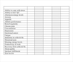 Swimming Progress Chart Progress Tracking Template 11 Free Word Excel Pdf
