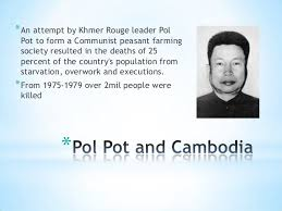 Pol Pot Quotes Inspiration Pol Pot Quotes Entrancing Dehumanization The Cambodian Genocideby