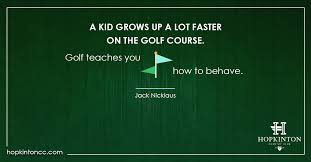 Kids Learning Golf Quotes Extraordinary Quotes About Kids Learning