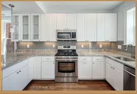 Light Brown White Italian Kitchen Backsplash Ideas For Dark Cabinets