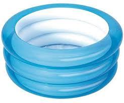 Buy Bestway 51033 <b>70cm</b>*H30cm <b>Inflatable</b> Three Ring <b>Baby</b> ...