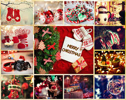 christmas card collage templates christmas photo collage christmas collage card add on templates