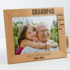 personalized grandpa picture frames wonderful grandpa 14026