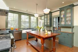 Victorian Kitchen Floor Awesome English Kitchen With Pretty Beige Wooden Cabinets And
