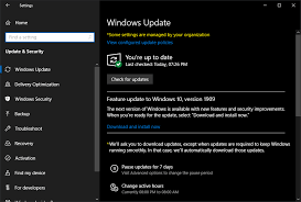 What Windows Version Do I Have How To Upgrade To Windows 10 Version 1909 Ghacks Tech News