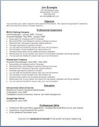 Free Examples Of Resumes Jmckell Com