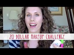 20 dollar makeup challenge natural back to makeup tutorial