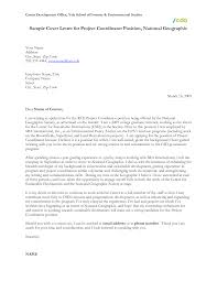 Writing A Professionally Program Coordinator Cover Letter The