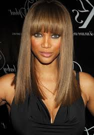 A Complete Guide To Bangs - Tyra Banks