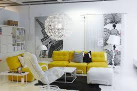 Yellow Living Room Set Furniture Living Room White Sofa Decorating Ideas Ikea Fearsome
