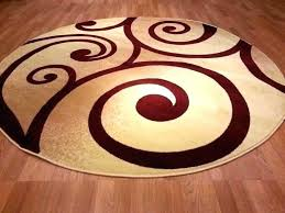 red round rug red circle rug area rugs excellent best round images on circular large semi