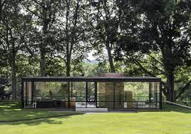 johnson glass house stamford connecticut united states philip johnson