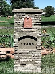 double mailbox post plans. Mail Box Post Design Double Mailbox Designs Plans